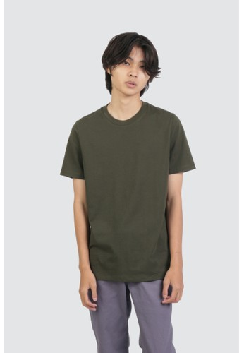 DUE/E green Heinz Tshirt in Olive B9847AA36DC6A0GS_1
