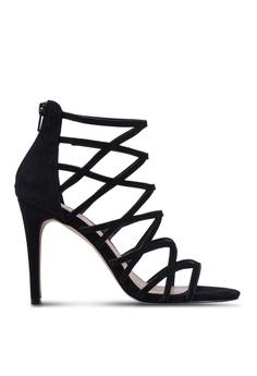 ceeca1721ed ALDO black Adaodda Caged Stiletto Heels 11C5FSH81A6C41GS 1