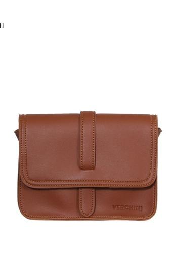 Verchini brown Verchini Satchel Sling Bag B5FCDACF550C13GS_1