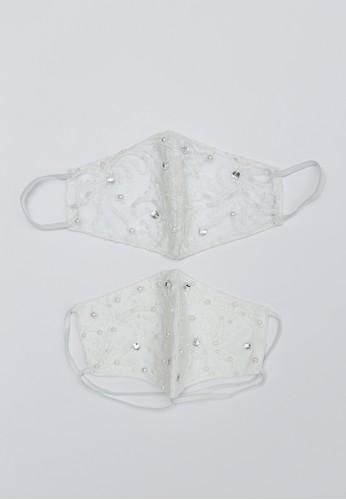 MFMW white MFMW Paket Masker Kain Ibu (Hijab) dan Anak (Basic) Longendyke Putih AAB42ES4933DFDGS_1