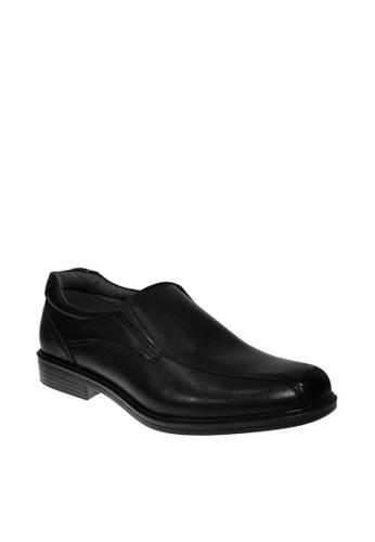 Hush Puppies black Tavern Dress Casual Shoes 9DE67SH1A80C6AGS_1