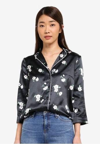 Miss Selfridge multi Pyjama Shirt Print B3A80AADE8F8CCGS_1