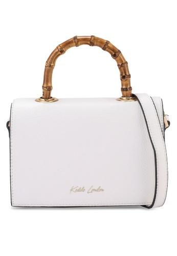 Keddo white Roula Sling Bag C2B35AC0FE23DBGS_1
