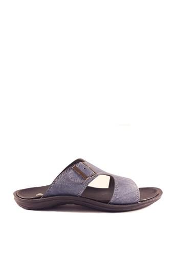 Dr. Kevin blue Dr. Kevin Men Casual Sandals 17199 - Blue DR982SH0UEVDID_1