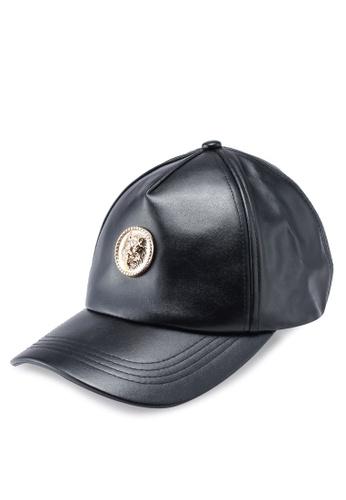 5203e5dce Buy River Island Faux Leather Lion Cap | ZALORA HK
