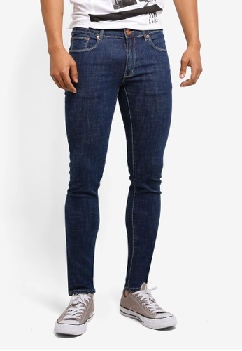 Electro Denim Lab blue Indie Skinny Jeans B339BAACD3ACAEGS_1