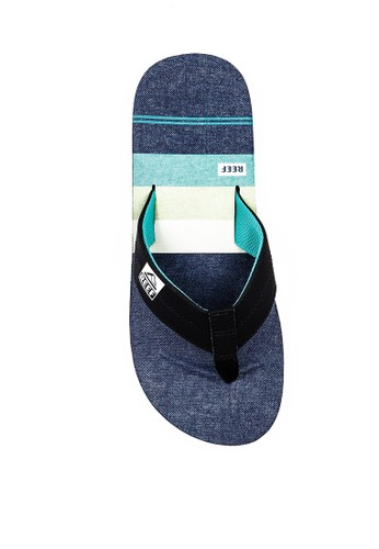 Reef green and blue REEF VOYAGE BLACK 983ECSHE8C8E45GS_1