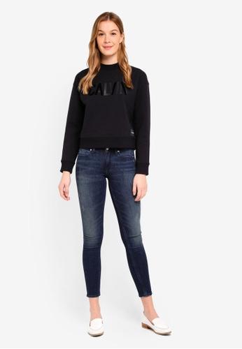 Calvin Klein black Calvin Logo Sweatshirt - Calvin Klein Jeans 57F75AAECB14FBGS_1