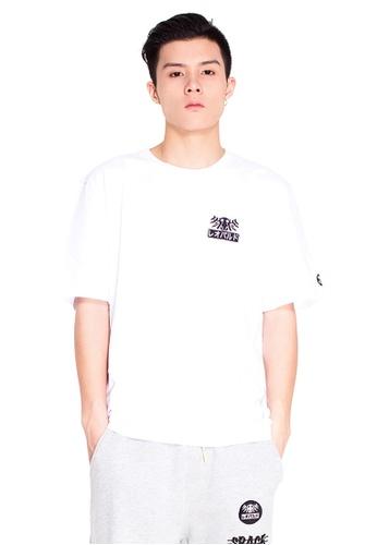 Reoparudo 白色 RPD 反光Emoji圖案印花T恤(白色) 97E8CAACB49D62GS_1