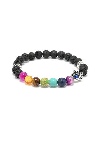Glamorbit black Chakra Healing Bracelet BBE34AC0B23687GS_1