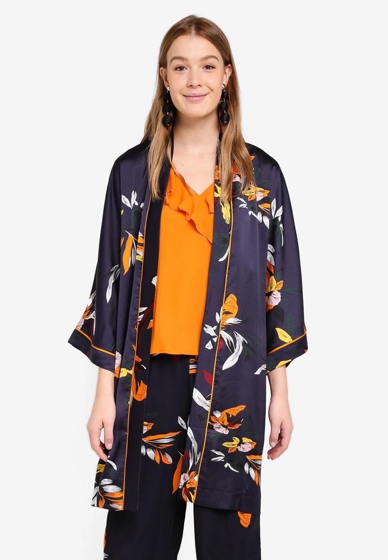 Tika Night Kimono Flower ONLY Sky EYqHA1dxw