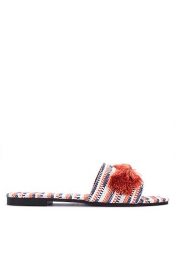DSNY FOOTWEAR SHOP orange Venice Boucle Slides CA858SH4F9F0F9GS_1