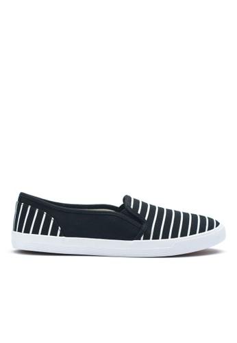 海軍條紋懶esprit 香港人鞋, 女鞋, 懶人鞋