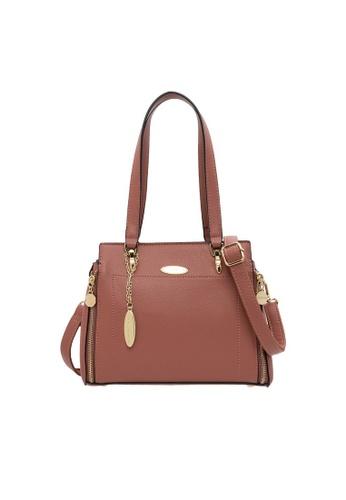 British Polo pink British Polo Lengthy Handbag CCA44AC1E78A6DGS_1