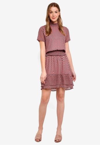 Modstrom multi James Print Dress 499C1AABDA6C34GS_1