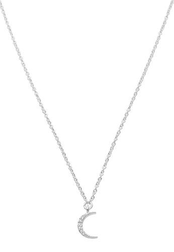 Dear Addison silver Eclipse Necklace 0536CAC79E590CGS_1