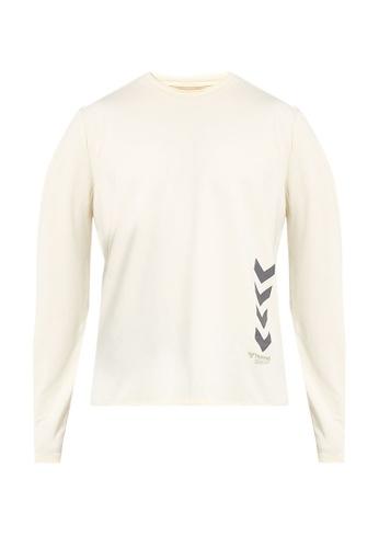 Hummel 白色 Marley 長袖T恤 C17E1AA916B014GS_1
