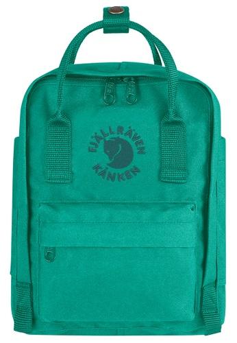 Fjallraven Kanken green Emerald Re Kanken Mini Backpack A37A0AC7EFF261GS_1