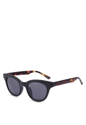 Mango black Acetate Frame Sunglasses A95ABGL12FA86FGS_1
