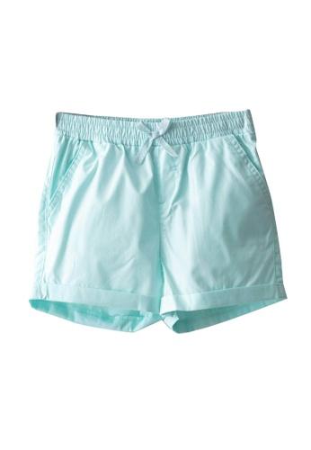 LC Waikiki blue Basic Shorts 24A13KAB3F2875GS_1