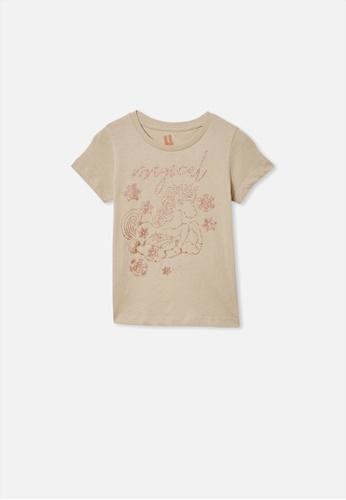 Cotton On Kids multi Penelope Short Sleeve Tee C122FKA353F5D2GS_1