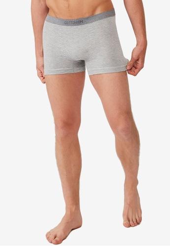 Cotton On grey Men's Seamless Trunks A020DUSA63DDADGS_1