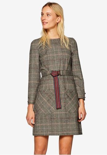 ESPRIT grey Woven Midi Dress F86A9AAEDCA9AAGS_1