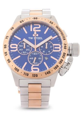 TW Steel silver CB144 Canteen Bracelet Analog Watch TW310AC0KMA6PH_1