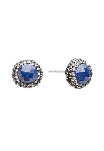 Fervor Montreal blue Fervor Montreal-Druzy Earrings Round F20FEAC65FDB52GS_1