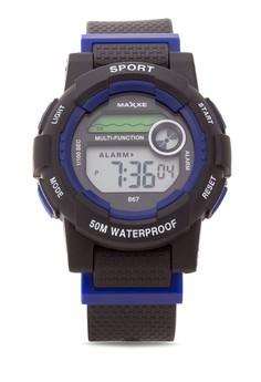Unisex Rubber Strap Watch MXJ 8670116