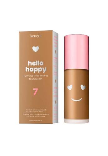 Benefit beige Hello Happy Flawless Brightening Foundation Shade 07 3C97EBEFC6D1B1GS_1