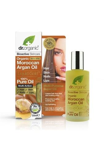 Holland & Barrett Dr Organic Pure Moroccan Argan Oil 50ml 5285AES43B68EBGS_1