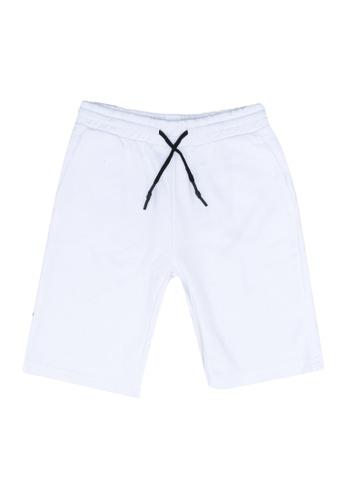 FOX Kids & Baby white Casual Drawstring Knit Shorts 3FAC2KAF8D82CFGS_1