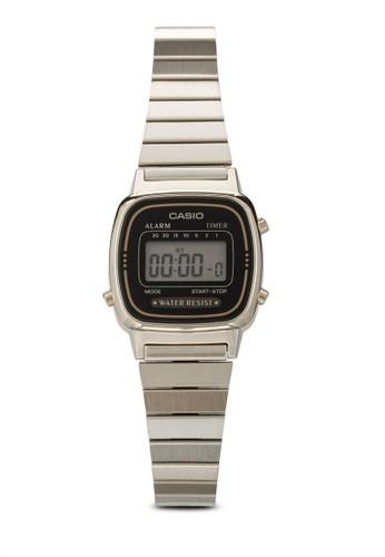 LA670WGA-1DF 數碼女性不銹鋼手錶, 錶類, 飾品配esprit 高雄件
