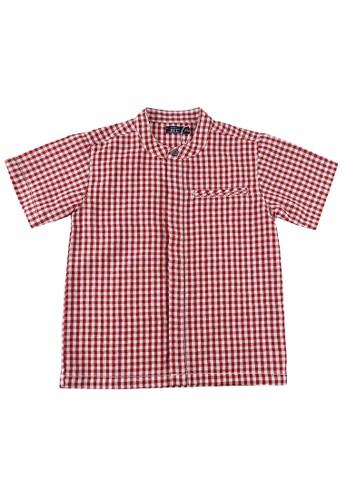 KIDS ICON red KIDS ICON - Shirt Anak Laki-laki DYL Usia 3-36 Bulan with Motif Kotak - DYKK1200200 AC559KA0415F40GS_1
