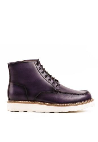 Twenty Eight Shoes Cognac真皮復古英倫短靴G623-1 F0ADFSH12F2584GS_1