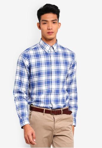 5f73525efc9 Buy Brooks Brothers Red Fleece Summer Twill Sport Shirt