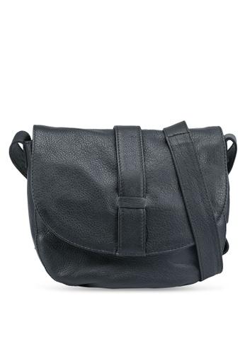 Pieces black Gabi Leather Crossbody Bag E5537AC93709AFGS_1