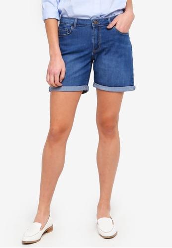 LC Waikiki blue Medium Rodeo Regular Waist Shorts 3E656AA66D5051GS_1