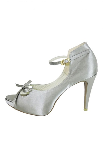 Jacque silver Iris High Heel Silver JA262SH90GCFMY_1