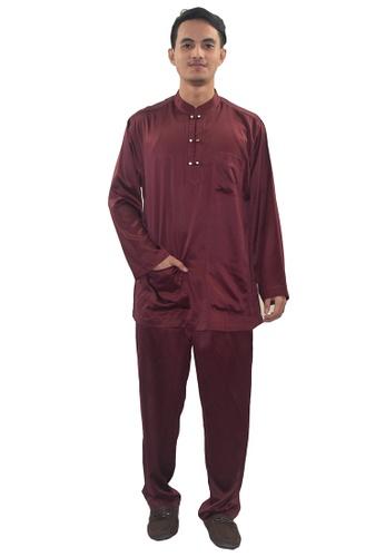Denai Boutique red Baju Melayu Zeid 05665AA9037731GS_1
