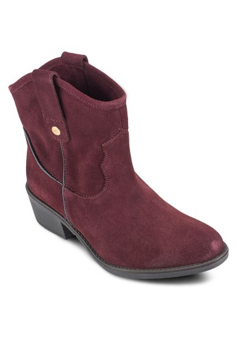 esprit香港門市Bastrop 皮革高筒靴, 女鞋, 鞋