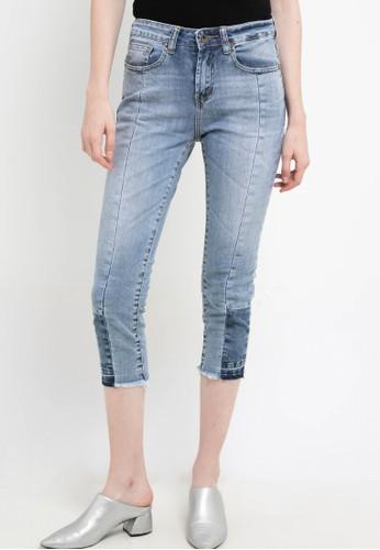 Lois Jeans blue High Waist Straight Denim Pant FTC290 7F26DAA1B89B3FGS_1
