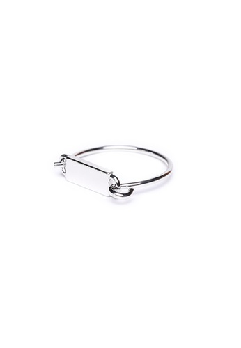 Gung Jewellery silver Twiggy Minimalist Ring in Silver 6EDBEAC75E4C26GS_1