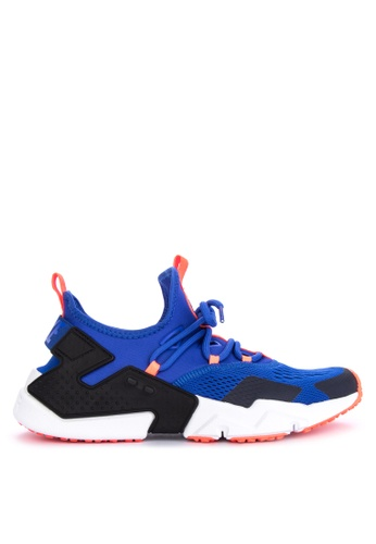 Nike black and blue Men's Nike Air Huarache Drift Breathe Shoes CE570SH6CF4F4EGS_1