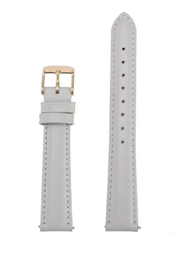Klarf grey Petite Leather Strap 19689AC77D2D53GS_1