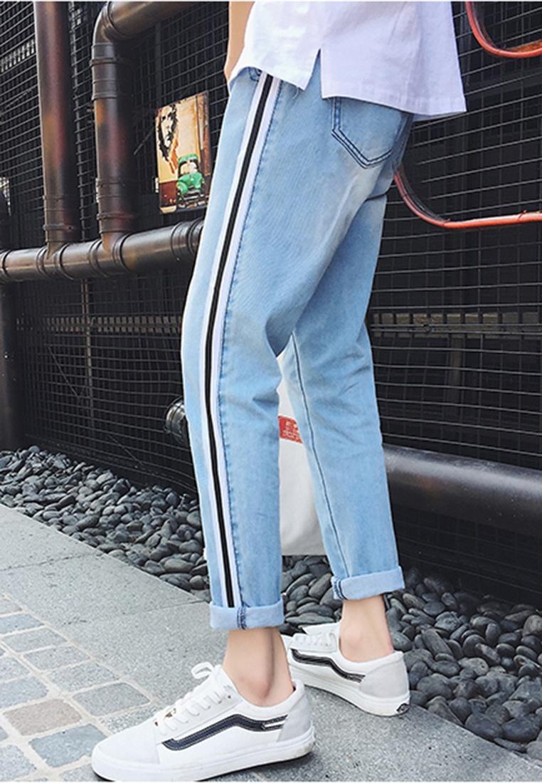 Stripe Grad blue hk Jeans Men ehunter z6qPZqw