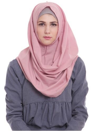 Mybamus Shabia Hijab Instant Dusty Pink