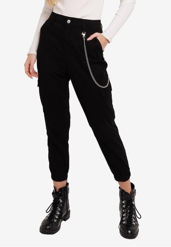DeFacto 黑色 Woman Woven Bottom Trousers B76A7AA61DEB9CGS_1