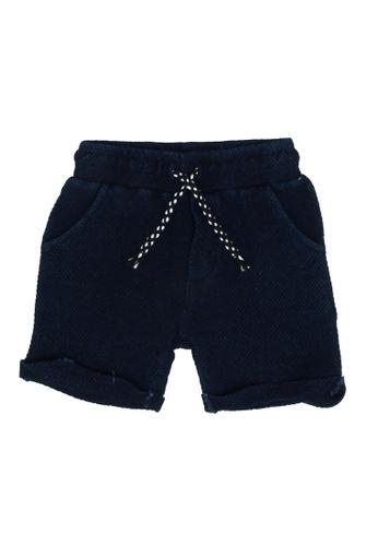 FOX Kids & Baby blue Baby Boy Shorts A3CA6KAA2DBAD2GS_1